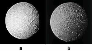 Téthys, satellite de Saturne