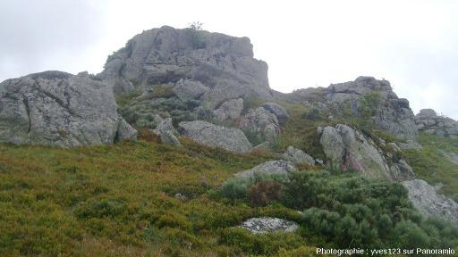 """Chaos granitique de la Margeride, découvert """"au hasard"""" en se baladant sur Panoramio"""