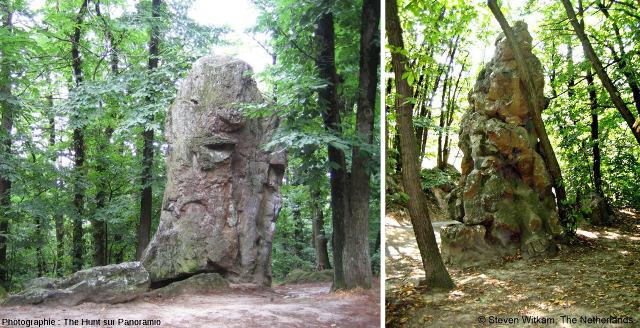 Deux aspects des «roches qui dansent»