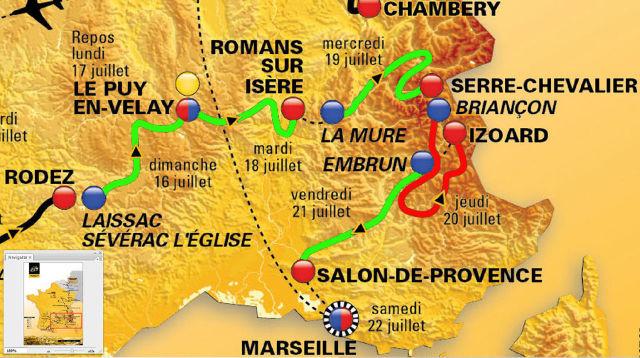 Les cinq étapes commentées du Tour de France 2017, de l'Aveyron aux Bouches du Rhône