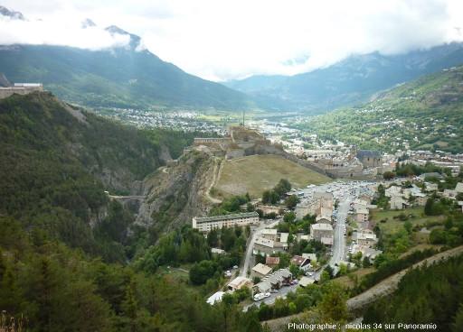 Le site de la ville de Briançon et de sa citadelle