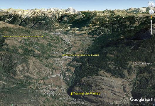 Trois sites d'intérêt géologique à la sortie de Briançon