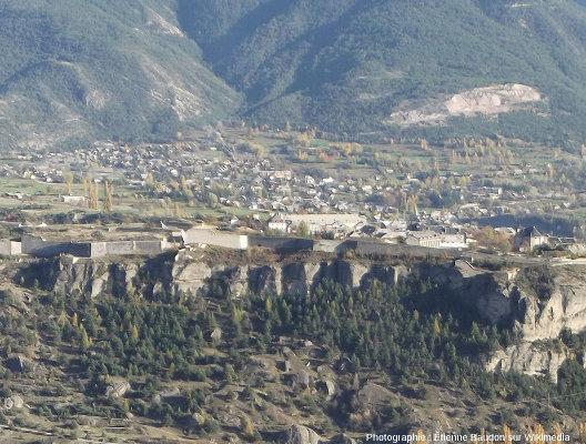 Détail de la citadelle de Mont-Dauphin