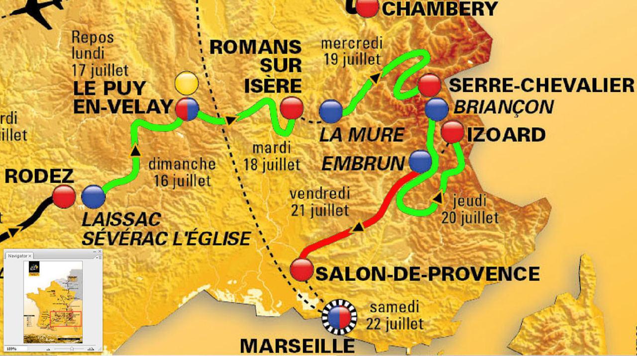 Faire De La Geologie En Suivant Le Tour De France 2017 Etape 19 Du