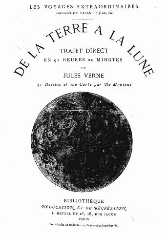 De la Terre à la Lune. Trajet direct en 97 heures 20 minutes