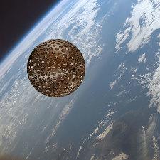 Le satellite géodésique Lageos