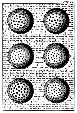 Les corps «très poreux», éléments de la théorie de l'attraction gravitationnelle de Lesage