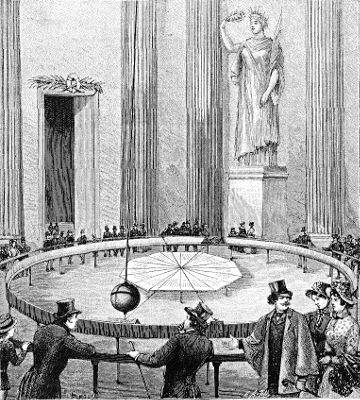 L'expérience du pendule de Foucault au Panthéon
