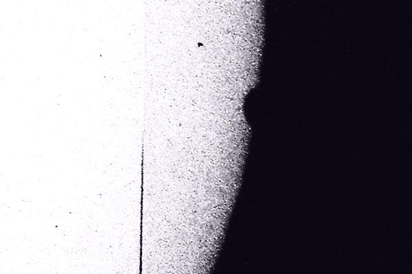 Observation directe de la sortie de Vénus du disque solaire