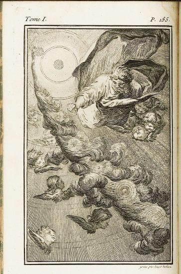L'origine de la Terre, extrait de l'œuvre de Buffon (1749)