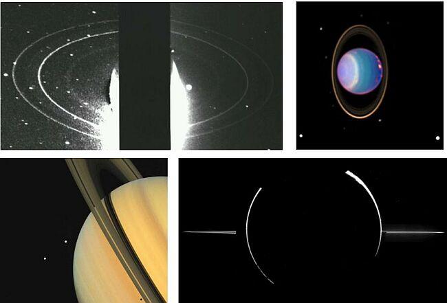 Anneaux de planètes géantes