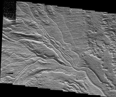 Mars: réseau hydrographique fossile avec inversion de relief
