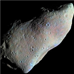 Gaspra (19 x 12 x 11 km), survolé par Galileo le 29 octobre 1991