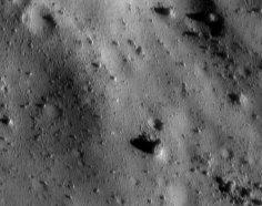 Vue d'Eros prise de 7 km d'altitude