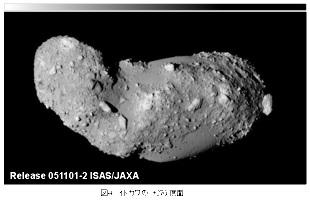 Vue d'Itokawa