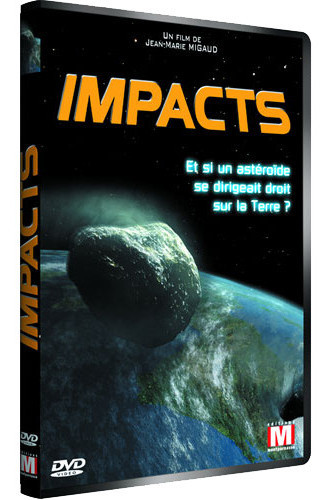 Pochette du DVD du documentaire Impacts
