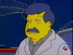 Stephen Jay Gould dans la série des Simpsons