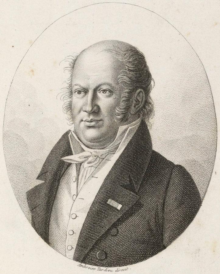 Portrait de Geoffroy Saint-Hilaire (1772-1844)