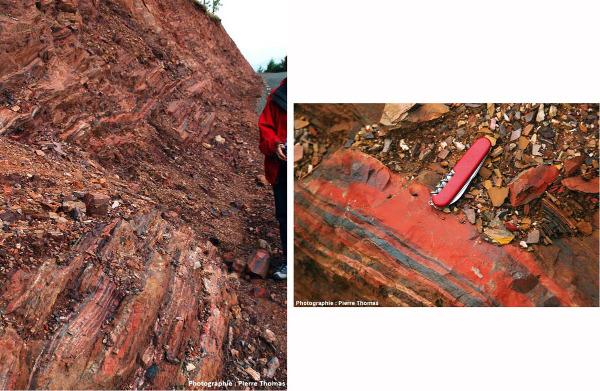 Fer rubané d'Afrique du Sud datant de -3,25Ga, bien avant la Grande Oxygénation
