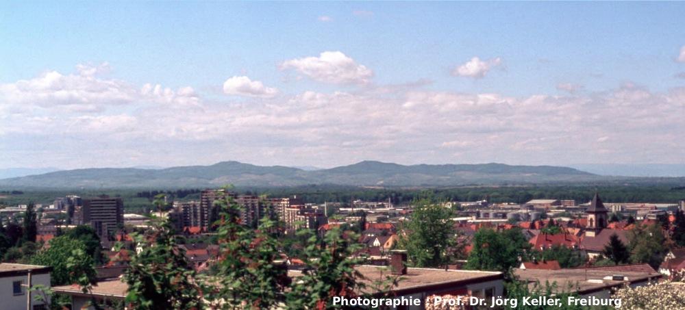 Vue panoramique du Kaiserstuhl