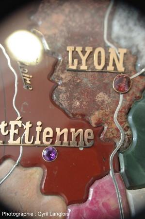 Zoom sur les gemmes utilisées pour Lyon et Saint-Étienne