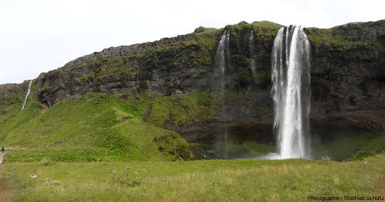 Cascade de Seljalandsfoss, Sud de l'Islande