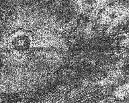 Un très beau cratère d'impact sur Titan (diamètre de 30 km)