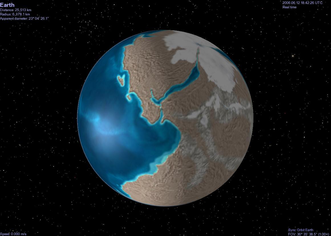 La Terre il y a 600Ma