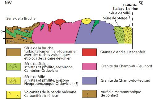Coupe des Vosges du Nord