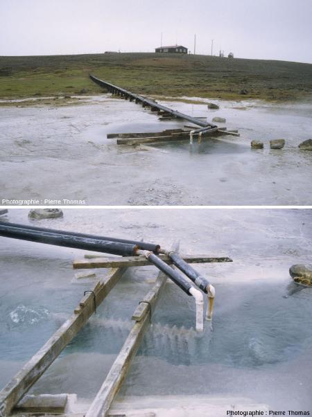Exploitation artisanale de géothermie haute température, en Islande