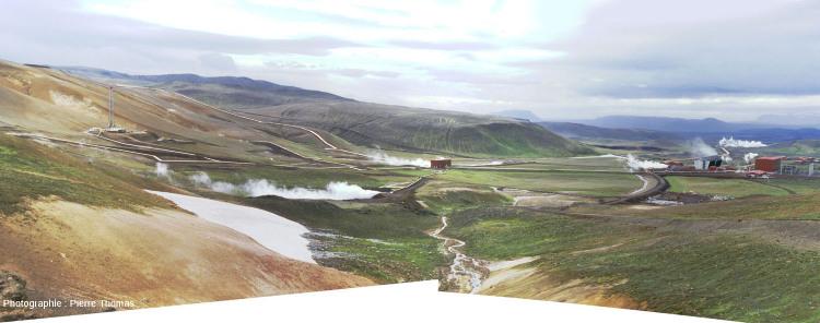 """Une centrale géothermique """"très haute température"""": la centrale du Krafla en Islande"""