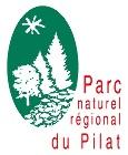 Chirat sur le logo du Parc naturel régional du massif du Pilat
