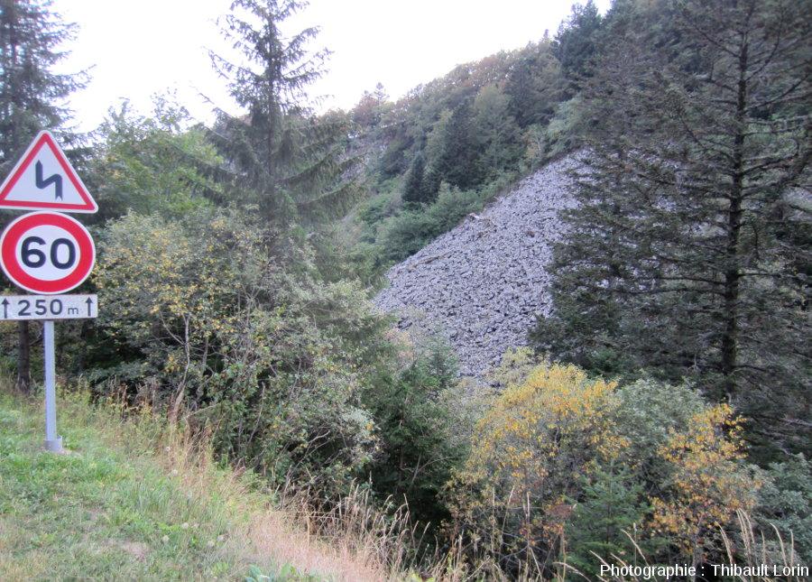 Chirat non loin de la commune du Mont-Dore (Puy-de-Dôme)