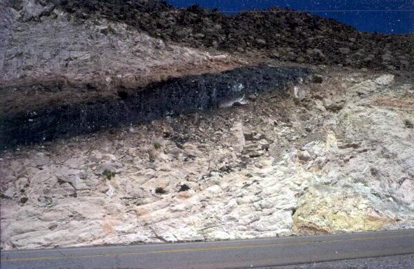 Route de Las Vegas à la Vallée de la Mort (Nevada)