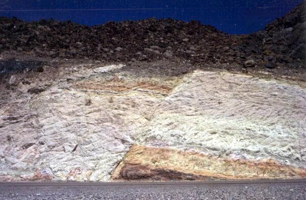 Route de Las Vegas à la Vallée de la Mort