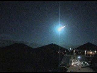 Chute d'une météorite en décembre 2005 à Halls Head, Sud-Ouest de l''Australie