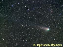 La comète C/2001 Q4 (NEAT) observée le 4 mai 2004