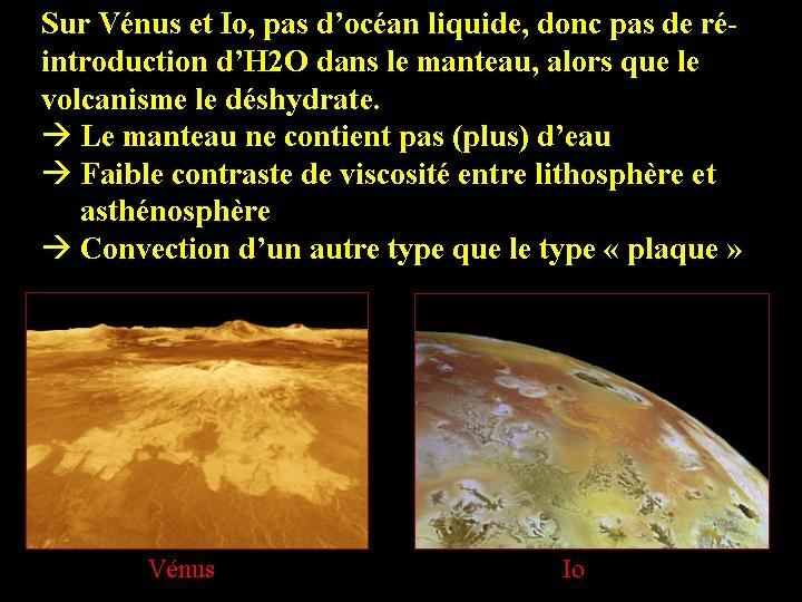 Cas de Vénus et d'Io