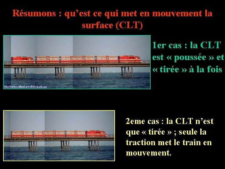 Résumé: origine de la mise en mouvement de la couche limite thermique (CLT)