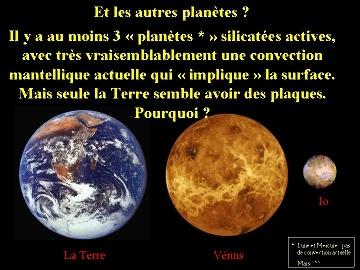 Autres planètes silicatées actives étudiées