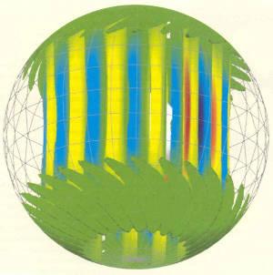 Sphère en rotation rapide: modélisation numérique
