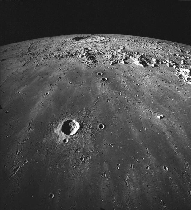 Cratère Copernicus vu par Apollo 17
