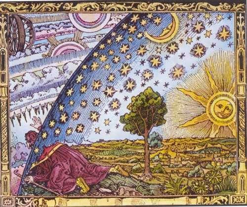 Le savant arrivé à la limite du Monde peut-il percer la voûte céleste de son bâton?
