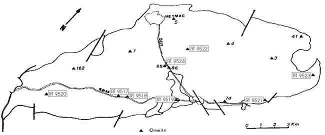 Granite datation radiométrique