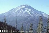 Mont St Helens, 17 mai 1980, un jour avant l'éruption
