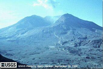 Mont Saint Helens, 10 septembre 1980