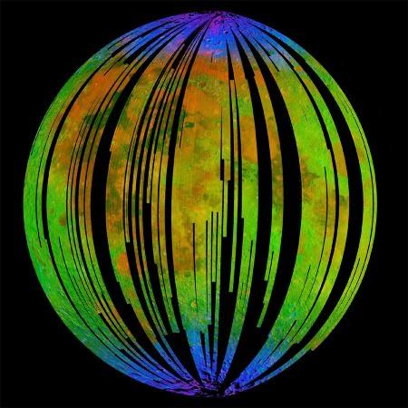 Répartition globale de l'eau et du radical OH à la surface de la Lune mesurée par l'instrument M3 de la sonde Chandrayaan-1