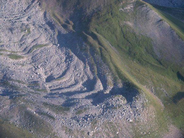 Glacier rocheux de Montfroid (Grandes Rousses) sur Terre