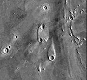 Îlots à proximité de Chryse Planitia