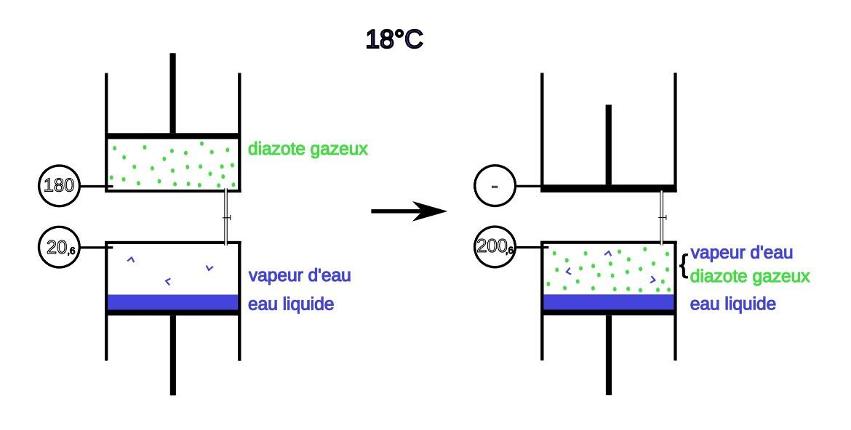 Pression gazeuse et pression partielle